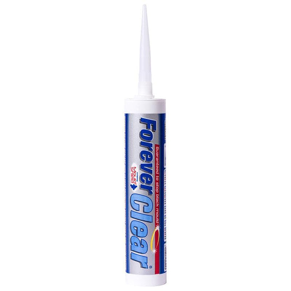 Everbuild Forever Clear Silicone - - Sealant - Trade Building Products