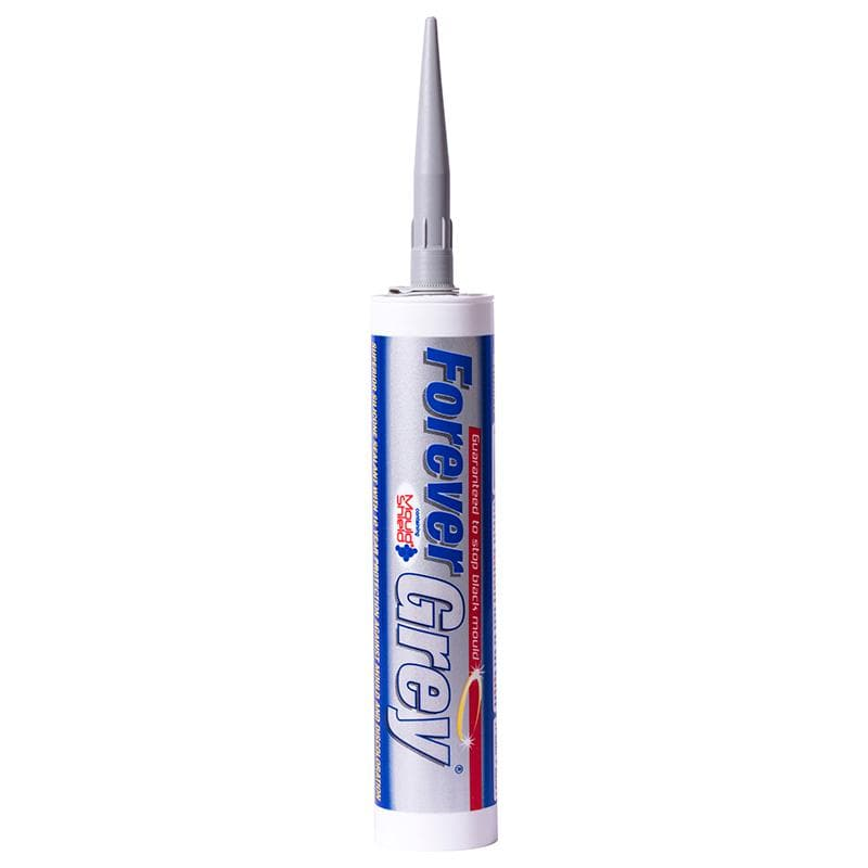 Everbuild Forever Grey Silicone - - Sealant - Trade Building Products