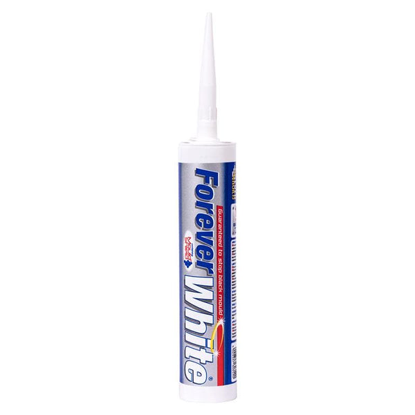 Everbuild Forever White Silicone - - Sealant - Trade Building Products