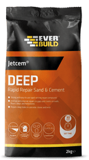 Everbuild Jetcem Deep Rapid Repair Sand & Cement - Cement - Trade Building Products