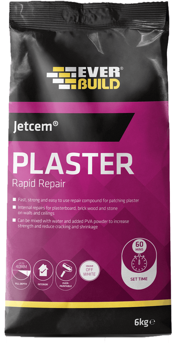 Everbuild Jetcem Plaster Rapid Repair - Plaster Repair - Trade Building Products