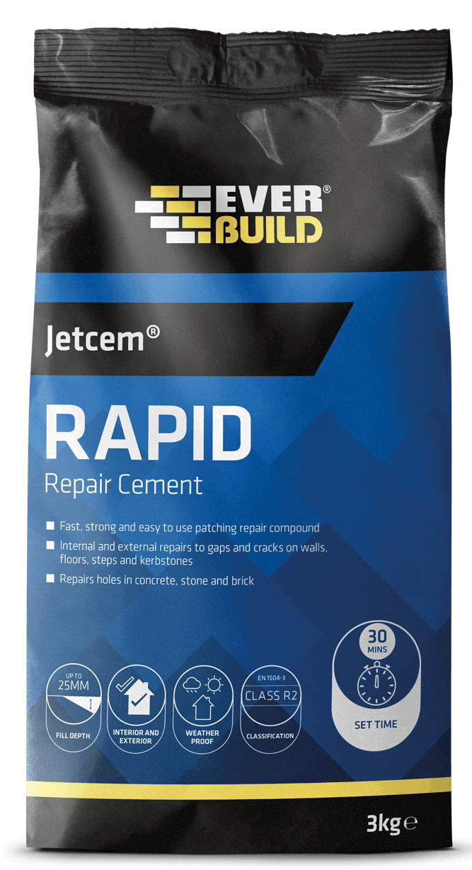 Everbuild Jetcem Rapid Repair Cement - Cement - Trade Building Products