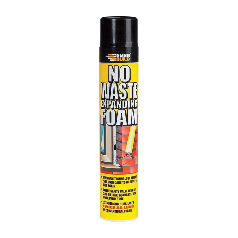 Everbuild No Waste Foam - - Expanding Foam - Trade Building Products