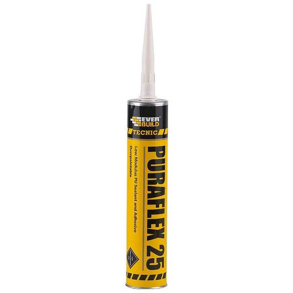 Everbuild Tecnic Puraflex 25 - - Sealant - Trade Building Products