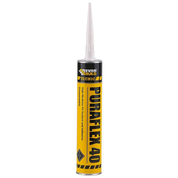 Everbuild Tecnic Puraflex 40 - - Sealant - Trade Building Products