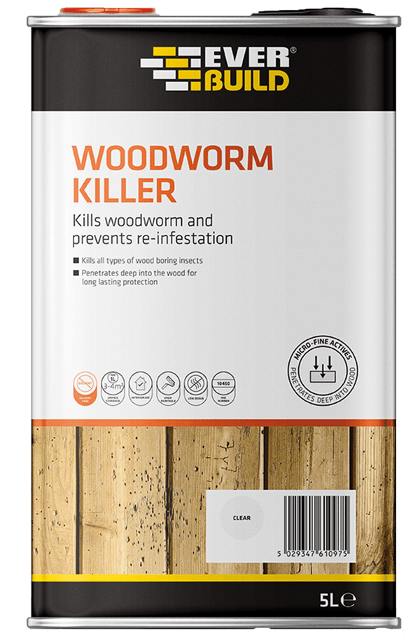 Everbuild Woodworm Killer - Woodworm Killer - Trade Building Products