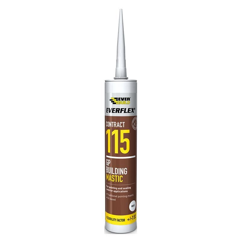 Everflex 115 GP Building Mastic - 4 Colours - - Sealant - Trade Building Products