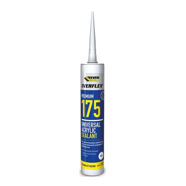 Everflex 175 Universal Acrylic Sealant - 2 Colours - 300ML - - Sealant - Trade Building Products