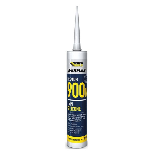 Everflex 900N LMN Silicone - 295ML - - Sealant - Trade Building Products