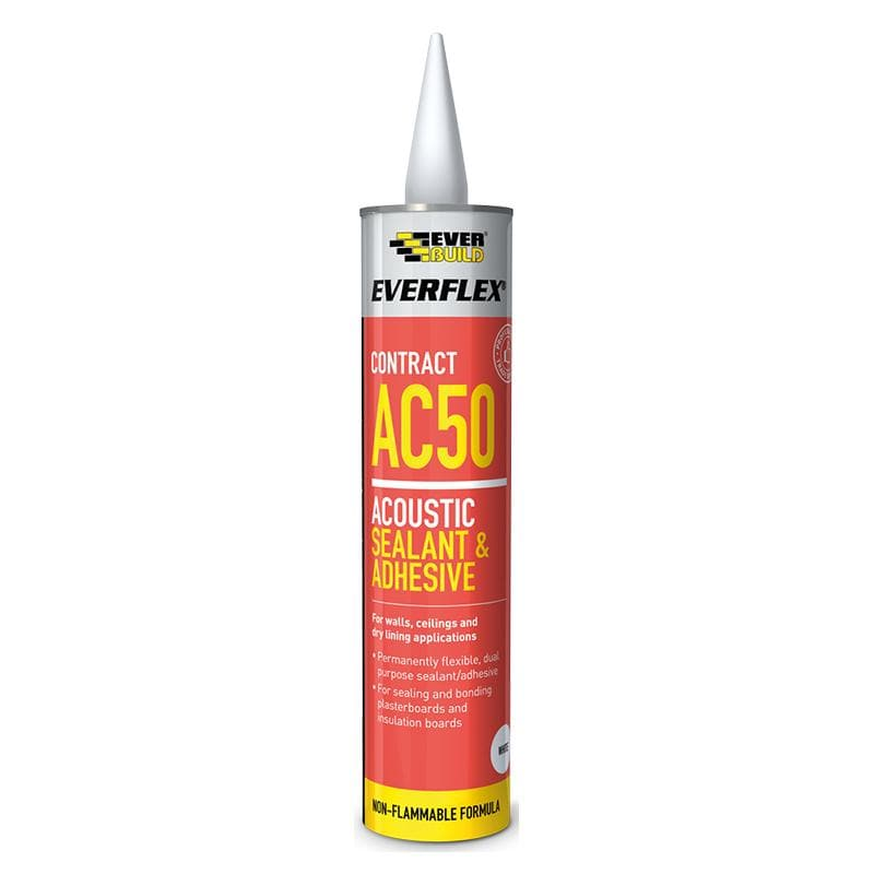 Everflex AC50 Acoustic Sealant & Adhesive - - Sealant - Trade Building Products