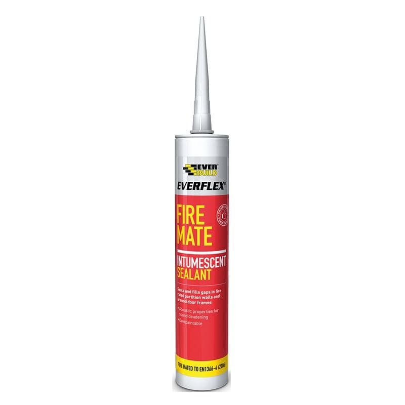 Everflex Fire Mate Silicone - 295ML - - Sealant - Trade Building Products