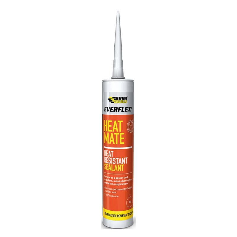 Everflex Heat Mate Silicone - 295ML - - Sealant - Trade Building Products