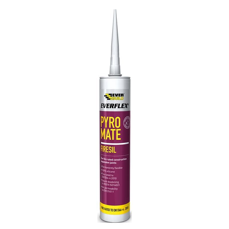 Everflex Pyro Mate Silicone - 295ML - - Sealant - Trade Building Products