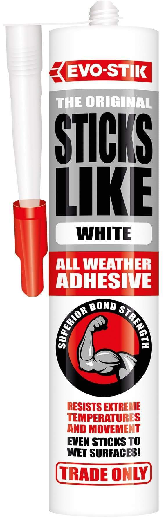 Evo-Stik Sticks Like Sh*t Adhesive - 350ml - Grab Adhesive Hybrid - Trade Building Products