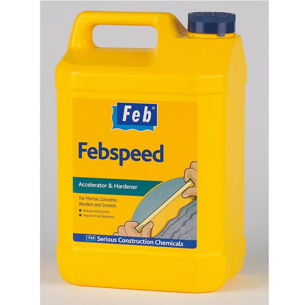 Feb Febspeed Admixture - - Mortar Admixture - Trade Building Products