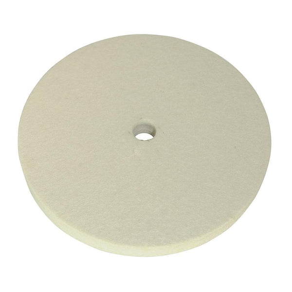 Felt Buffing Wheel - 150mm - Power Tool Accessories - Trade Building Products