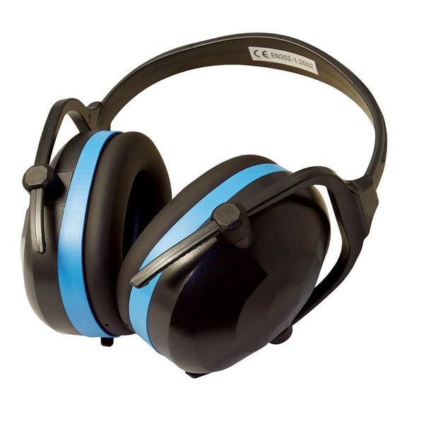 Folding Ear Defenders SNR 30dB - PPE - Trade Building Products