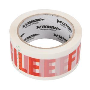 FRAGILE Packing Tape - Hardware & Fixings - Trade Building Products