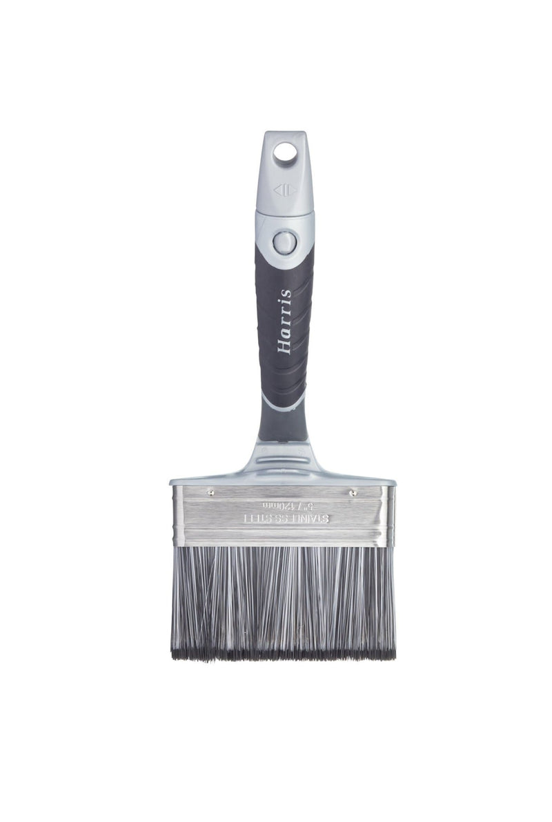Harris Ultimate Masonry Swan Neck Paint Brush - Paint Brushes - Trade Building Products