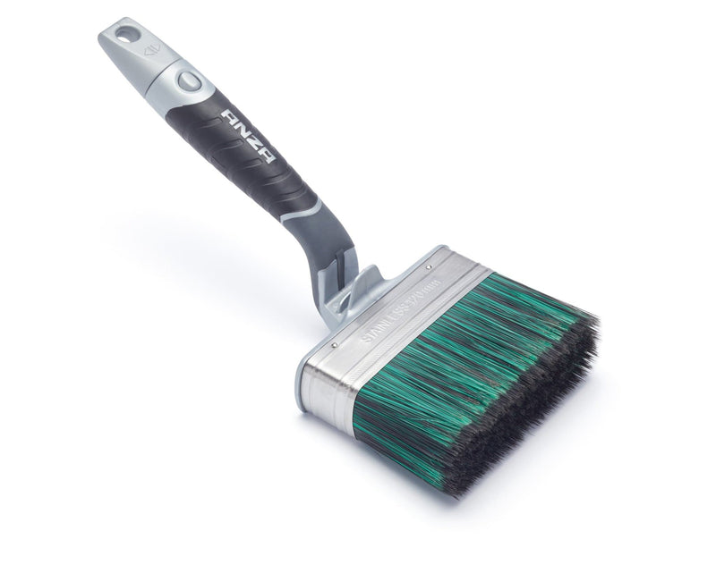 Harris Ultimate Shed & Fence Swan Neck Paint Brush - Paint Brushes - Trade Building Products