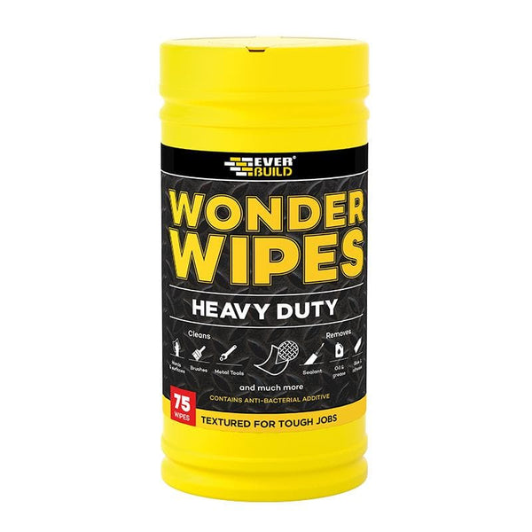 Heavy Duty Wonder Wipes - Anti-Bacterial - - Cleaners - Trade Building Products