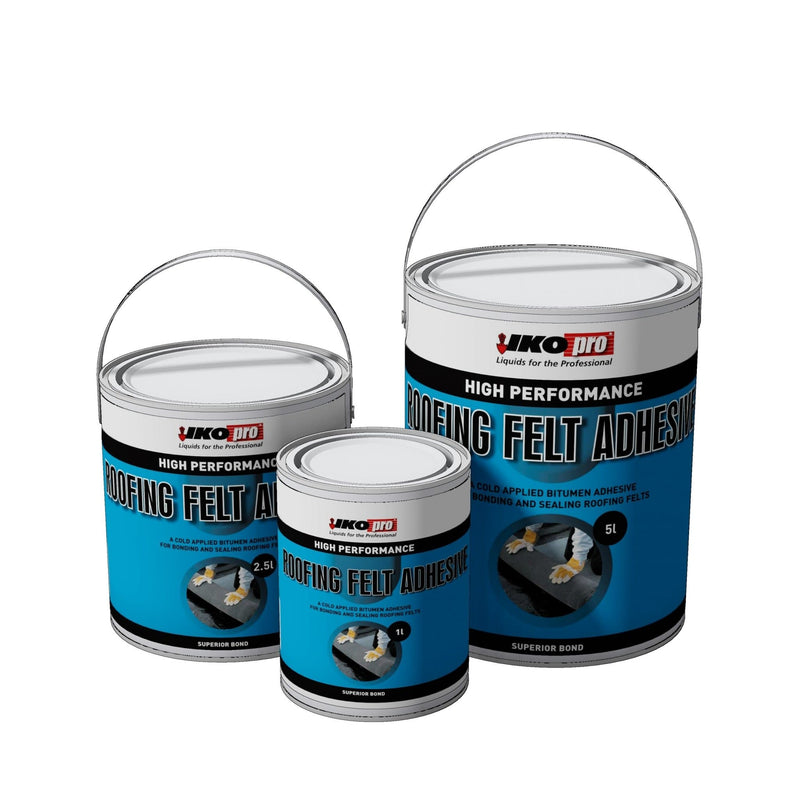 IKOpro High Performance Roofing Felt Adhesive - Roofing Felt Adhesive - Trade Building Products