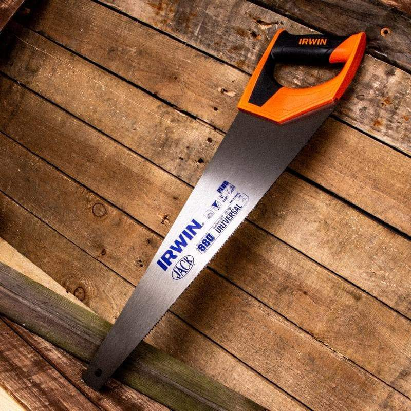 IRWIN Jack Universal 880 Triple Ground Hardpoint Saw - Hand Saw - Trade Building Products