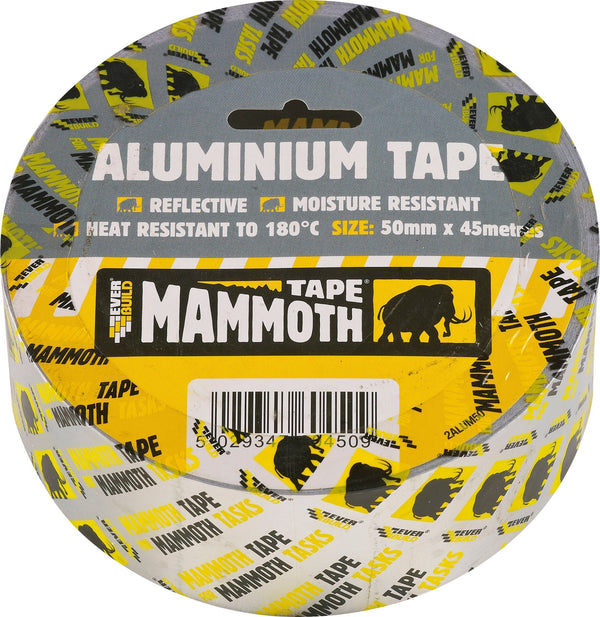 Mammoth Aluminium Tape - Tapes - Trade Building Products
