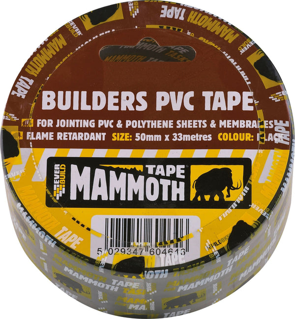 Mammoth Builders PVC Tape - Tapes - Trade Building Products