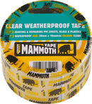Mammoth Clear Weatherproof Tape - Tapes - Trade Building Products