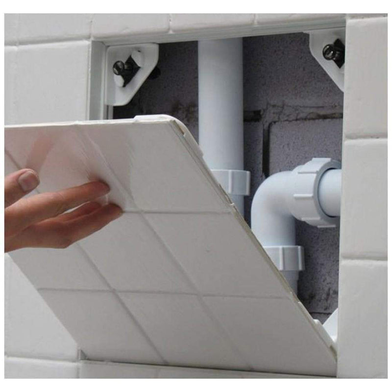 Manthorpe 500 x 500mm - Tile Access Panel - GLTAP-500 - Access Panels - Trade Building Products