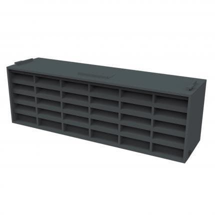 Manthorpe Airbrick G930 - Blue-Black - Pack of 20 - Wall & Floor Ventilation - Trade Building Products