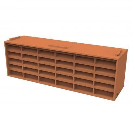 Manthorpe Airbrick G930 - Terracotta - Pack of 20 - Wall & Floor Ventilation - Trade Building Products