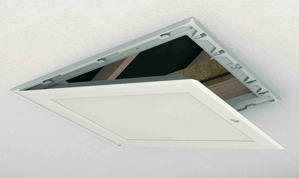 Manthorpe - Drop Down Loft Access Door 562 x 762mm - GL250 - Loft Door - Trade Building Products