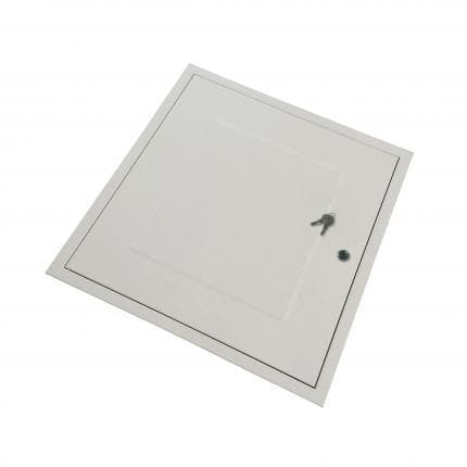 Manthorpe - Fire Rated Loft Door - 562 x 562mm - GL271F - Key Lockable - Loft Door - Trade Building Products