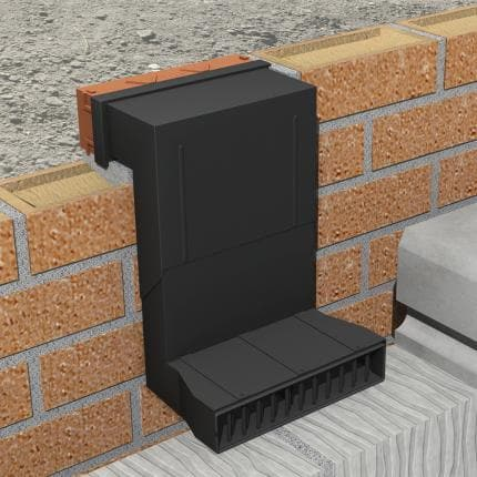 Manthorpe G960 - Telescopic Underfloor Vent - Wall & Floor Ventilation - Trade Building Products