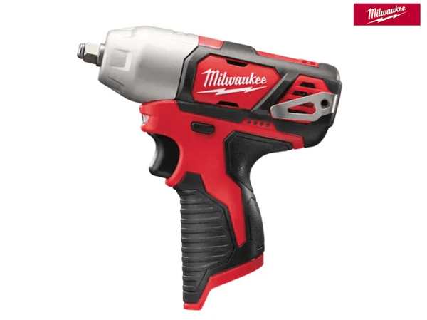 Milwaukee M12 BIW38-0 Sub Compact 3/8In Impact Wrench 12V Bare Unit - Power Tools - Trade Building Products