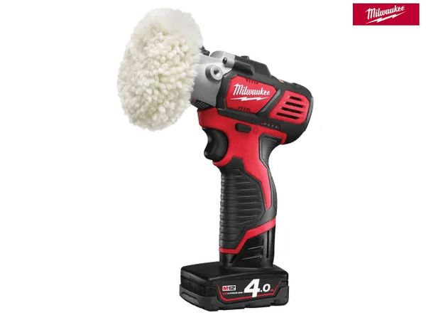 Milwaukee M12 Bps-421X Cordless Sander/Polisher 12V 1 X 4.0Ah/1 X 2.0Ah Li-Ion - Power Tools - Trade Building Products