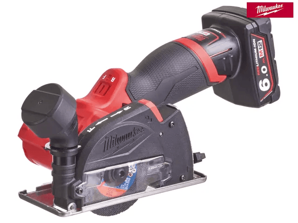 Milwaukee M12 Fcot-622X Fuel Cut Off Tool Kit 12V 1 X 2.0Ah & 1 X 6.0Ah Li-Ion - Power Tools - Trade Building Products