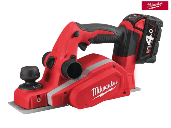 Milwaukee M18 Bp-402C Planer 18V 2 X 4.0Ah Li-Ion - Power Tools - Trade Building Products