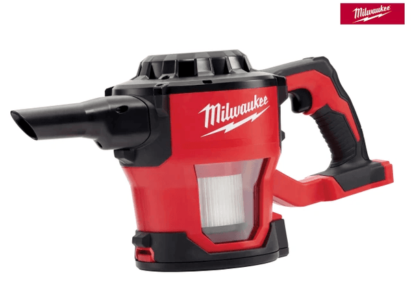 Milwaukee M18 Cv-0 Compact Hand Vac 18V Bare Unit - VACUUM - Trade Building Products