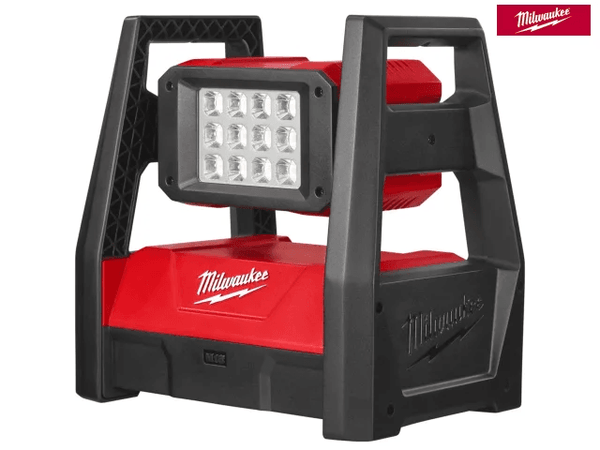 Milwaukee M18 Hal-0 H/P Trueview Area Light 18V Bare Unit - Light - Trade Building Products