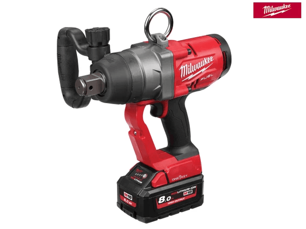 Milwaukee M18ONEFHIWF1-802X Fuel One-Key 1In Impact Wrench 18V 2 X 8.0Ah Li-ion - Power Tools - Trade Building Products