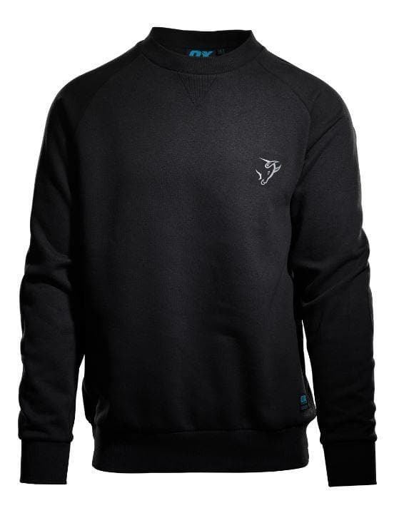 OX Crew Neck Sweatshirt - Black - Top - Trade Building Products