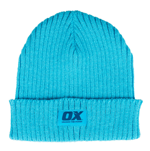 OX Knitted Beanie - Beanie Hat - Trade Building Products