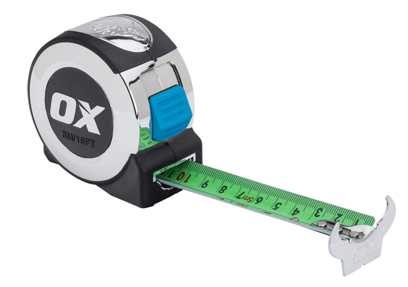 OX Pro 5m Tape Measure - Tape Measure - Trade Building Products