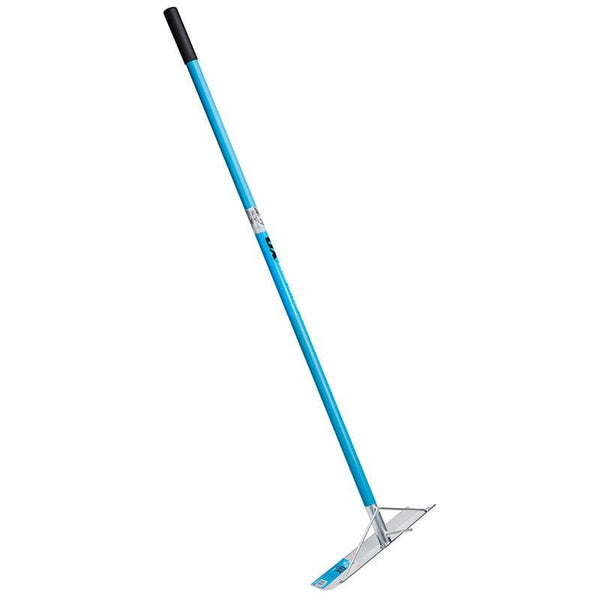 Ox Pro Aluminium Concrete Rake - With Hook - Concreting Tools - Trade Building Products