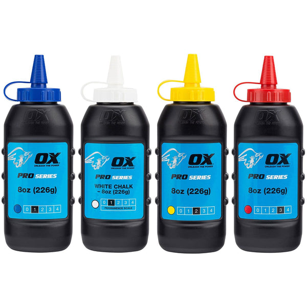 Ox Pro Chalk Refill 226g - Layout Tool - Trade Building Products