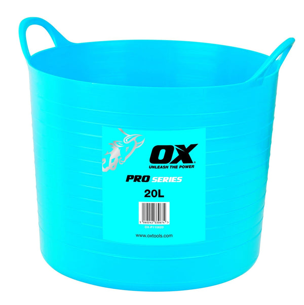 OX Pro Heavy Duty Flexi Tub - Bucket - Trade Building Products