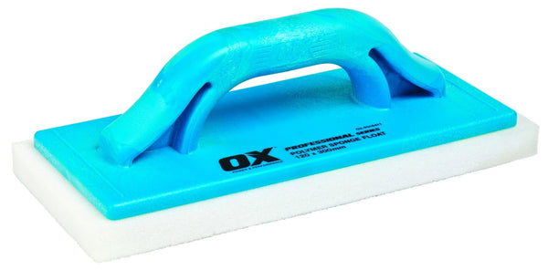 OX Pro Polymer Sponge Float - 120mm x 300mm - Plasterers Float - Trade Building Products